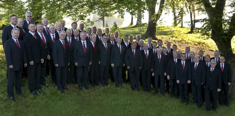 Gruppenfoto auf der Külbe