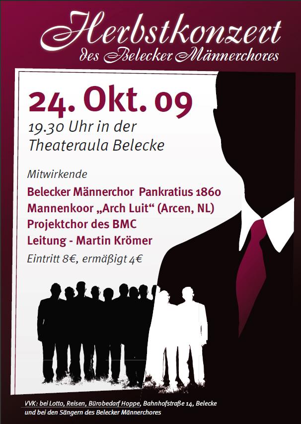 2009-10-24_Plakat_Herbstkonzert