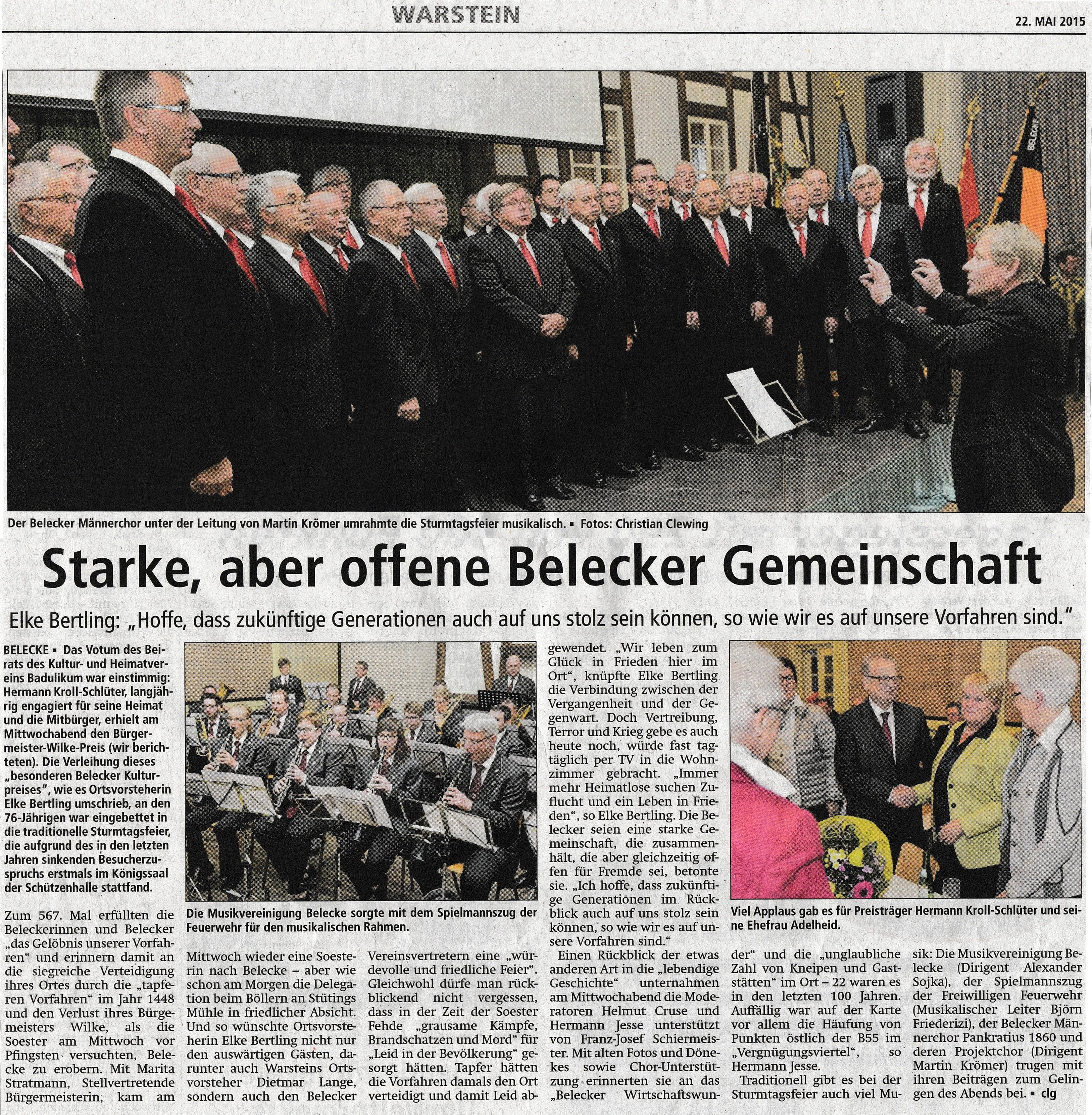 567. Belecker Sturmtag